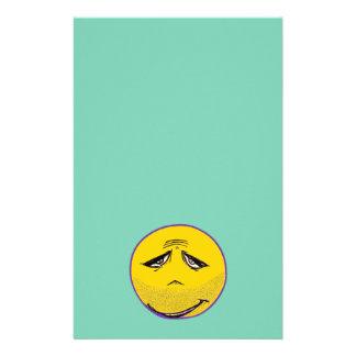 Smiley Face Guru Stationery