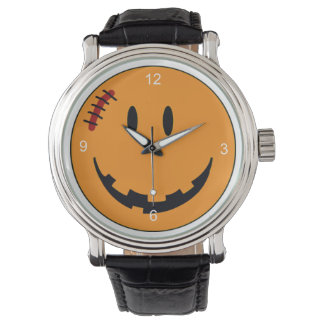 Smiley Face Halloween Style ID224 Wrist Watch