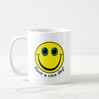 Smiley Face Have a nice day Coffee Mug