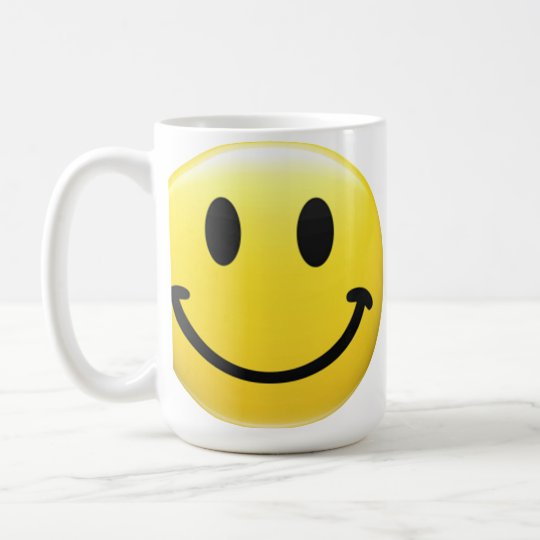 SMILEY FACE - HAVE A NICE DAY - Cool 1970's Icon Coffee Mug