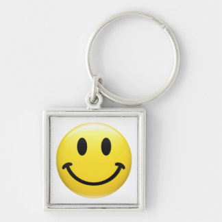 SMILEY FACE - HAVE A NICE DAY - Cool 1970's Icon Keychain