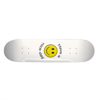 Smiley Face - Have a Nice Day Skateboard Deck