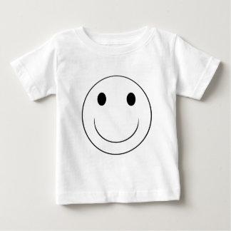 smiley face infant t-shirt