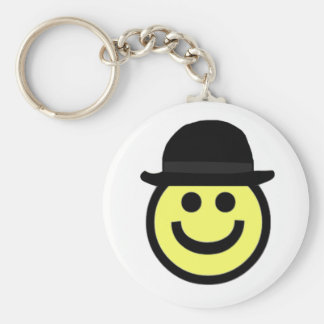 Smiley Face Keychain