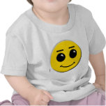 smiley-face-large tee shirt