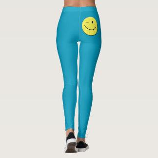 Smiley Face Leggings