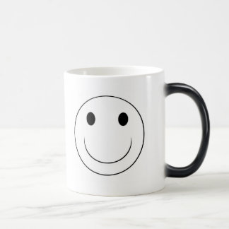 smiley face magic mug