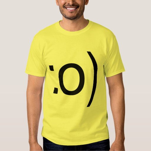 Smiley Face - Nose T-Shirt