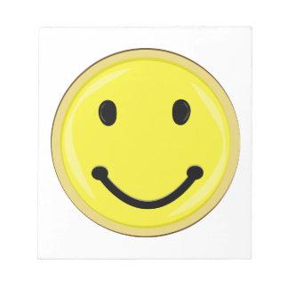 Smiley Face Memo Pads