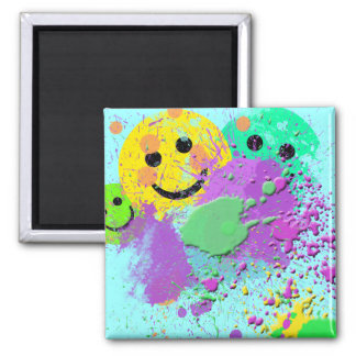 SMILEY FACE PAINT SURPRISE MAGNET