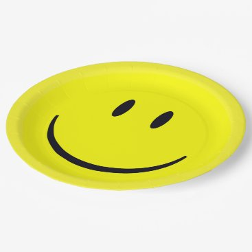 shelbysemail2 Smiley Face Paper Plate