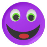 Smiley Face Party Plates