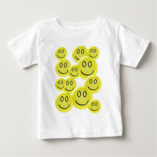 Smiley Face Pattern Design Baby T-Shirt
