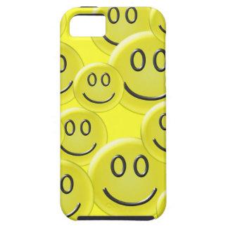 Smiley Face Pattern Design iPhone SE/5/5s Case