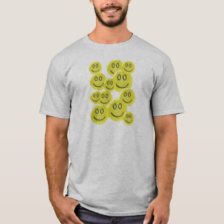 Smiley Face Pattern Design T-Shirt