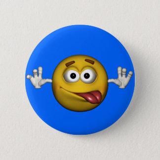 Smiley Face Pinback Button