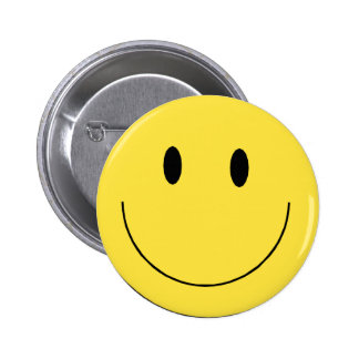 Smiley Face Pinback Buttons