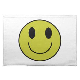 Smiley Face Place Mat