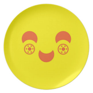 Smiley Face Plate
