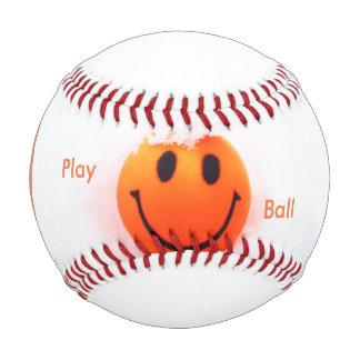 Smiley Face- Play Ball