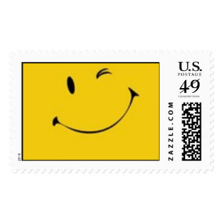 Smiley Face Postage