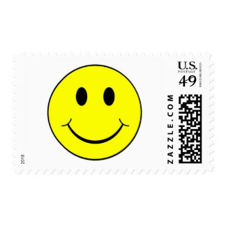 smiley face postage stamp