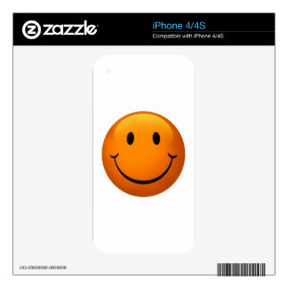 Smiley Face Skins For iPhone 4S
