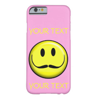 SMILEY FACE SMILE TEMPLATE CUSTOMIZE GIRLY POPULAR BARELY THERE iPhone 6 CASE