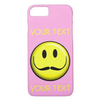 SMILEY FACE SMILE TEMPLATE CUSTOMIZE GIRLY POPULAR iPhone 8/7 CASE