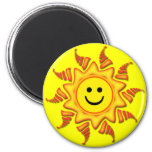 SMILEY FACE SUN MAGNETS