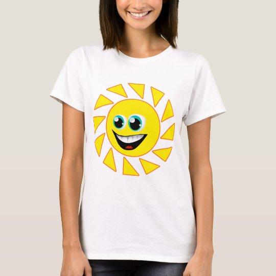 SMILEY FACE SUN T-Shirt