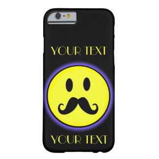 SMILEY FACE TEMPLATE CUSTOMIZE AWESOME FUNNY GIRLY BARELY THERE iPhone 6 CASE