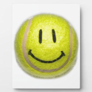 Smiley Face Tennis Ball Plaque
