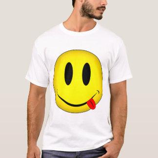 Smiley Face Tongue T-Shirt