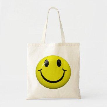 mvdesigns Smiley Face Tote Bag