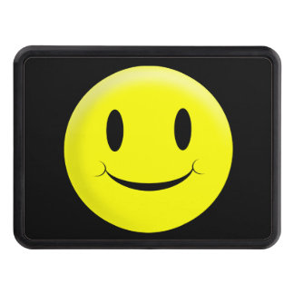 Smiley Face Trailer Hitch Cover