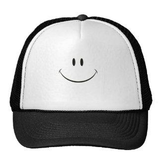 Smiley face trucker hat