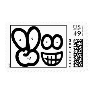 Smiley Face V Finger (Light) Postage