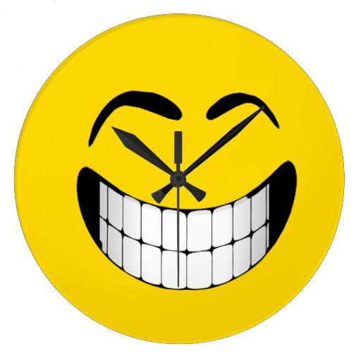 Clocks: www.zazzle.com/smiley_face_wall_clock-256678930905036559