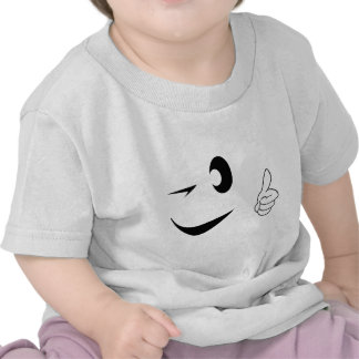 Smiley Face - Winking - Thumbs Up Tees