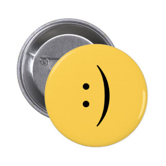 Smiley face with colon and parenthesis button