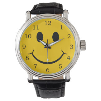 Smiley Face Wristwatch