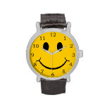 Smiley Face Wristwatches