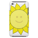 Smiley-Faced Sunflower Barely There iPod Case