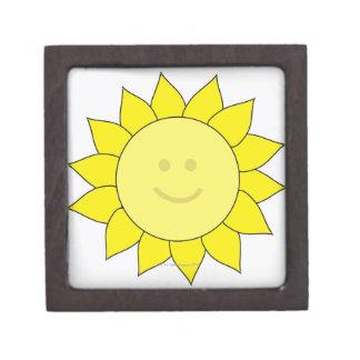 Smiley-Faced Sunflower Premium Gift Box