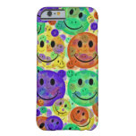 Smiley Faces Collage Barely There iPhone 6 Case