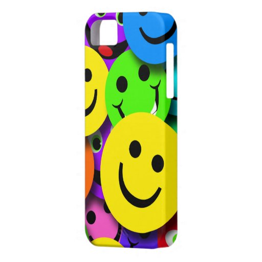 Smiley Faces Collage iPhone 5 Cover