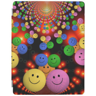 Smiley Faces Jamboree iPad Cover