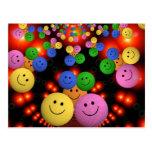 Smiley Faces Jamboree Postcard