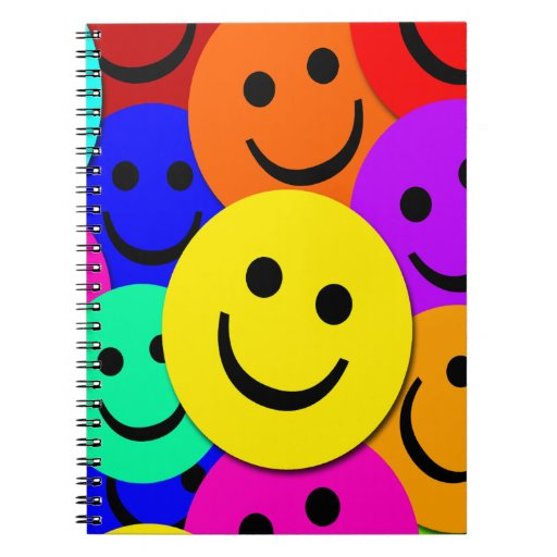 Smiley Faces Notebook
